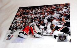 Chicago Blackhawks 2013 Stanley Cup Champions Celebrate Ice Picture Photo 16x20