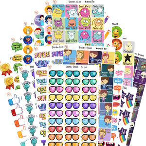 Teacher Reward Sticker Gift Pack