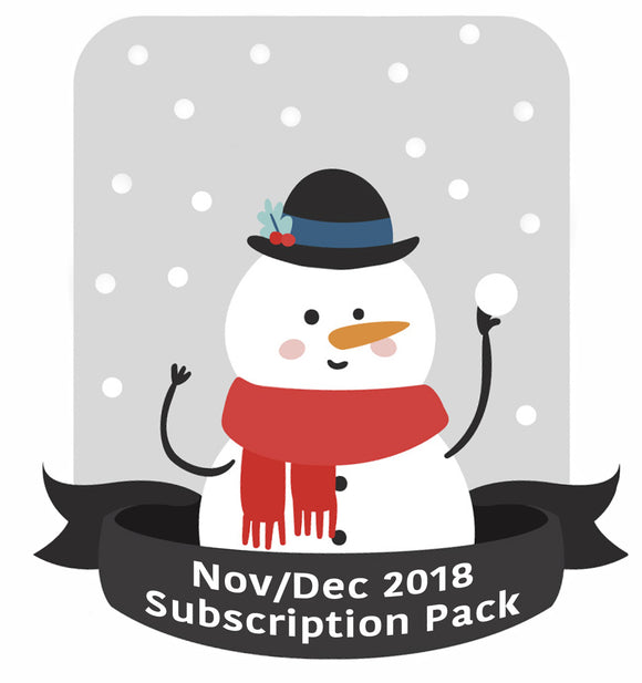 November/December 18 subscription pack