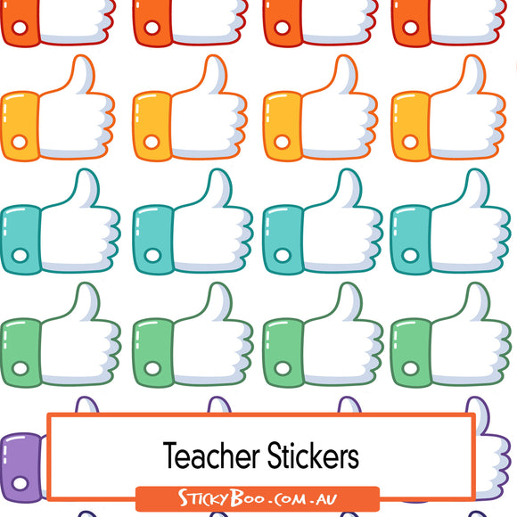 Reward Stickers - Thumbs Up