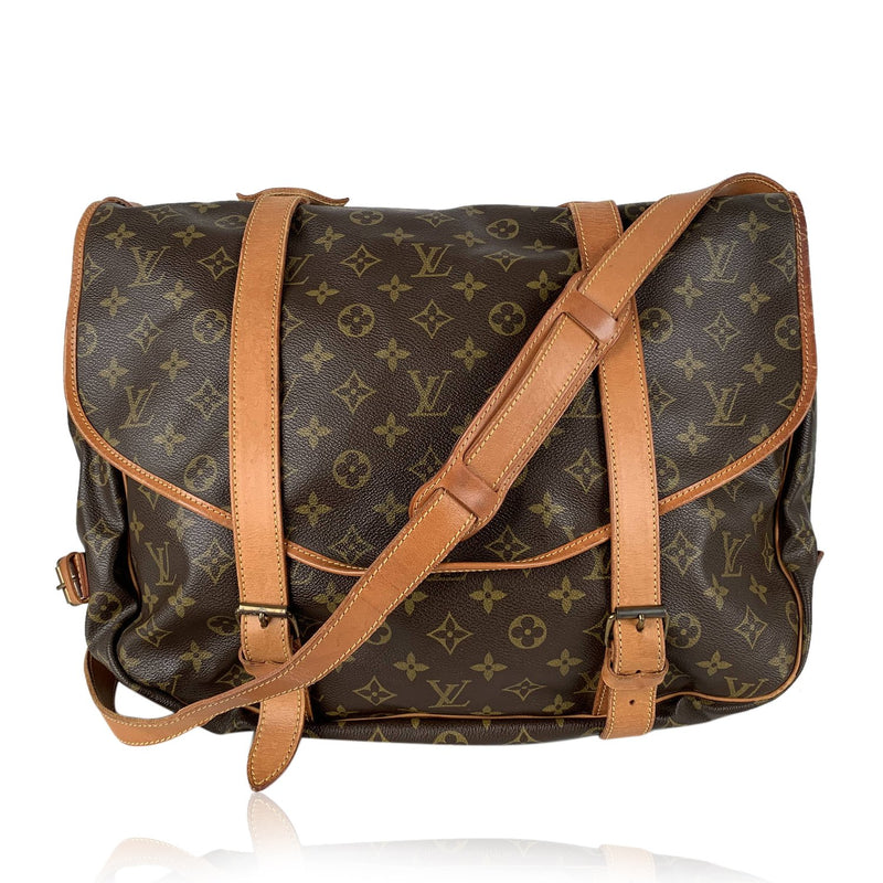 Louis Vuitton Vintage Monogram Saumur 40 Messenger Bag