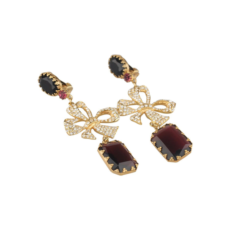 Vintage Haute Couture  Bow Earrings