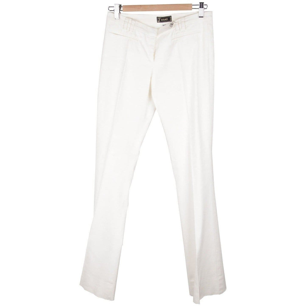 Flared Women Trousers Pants Size 40 Opherty & Ciocci