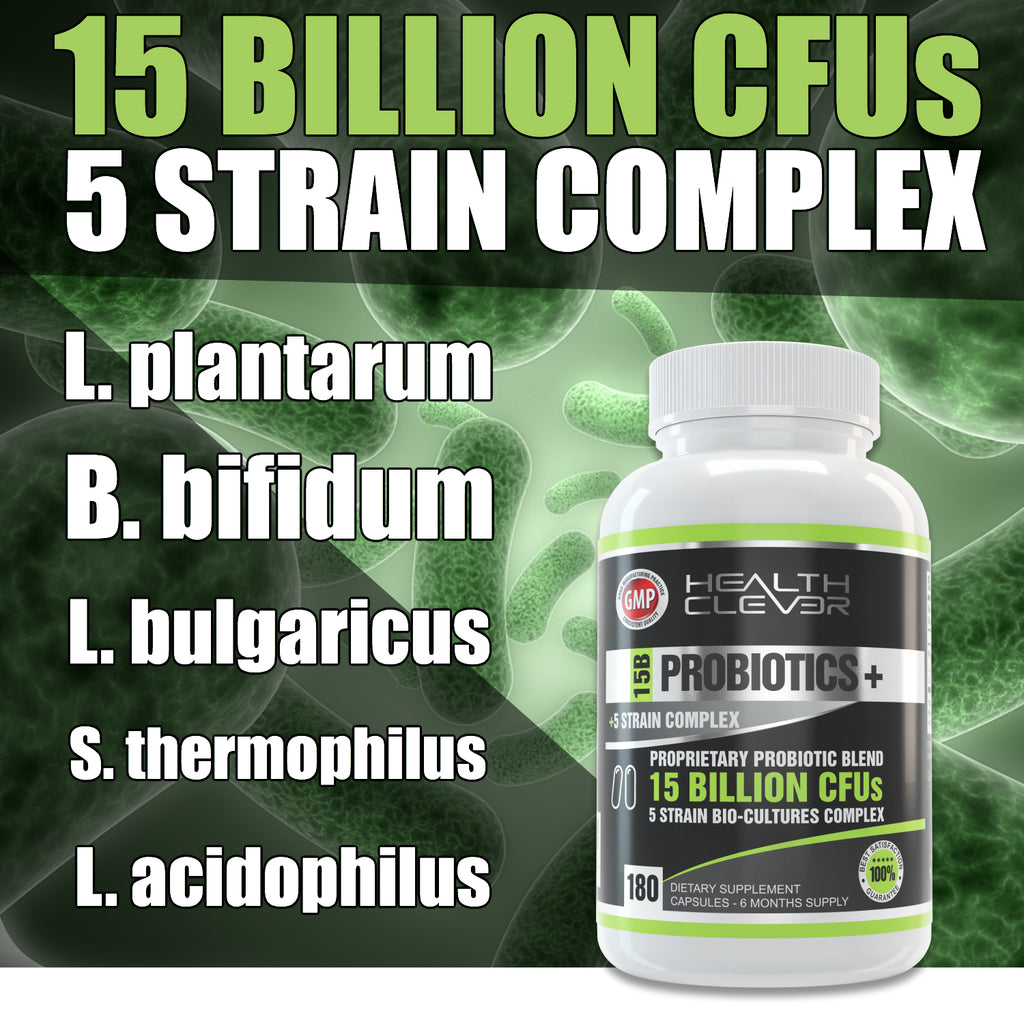 Probiotics 15 Billion CFU's