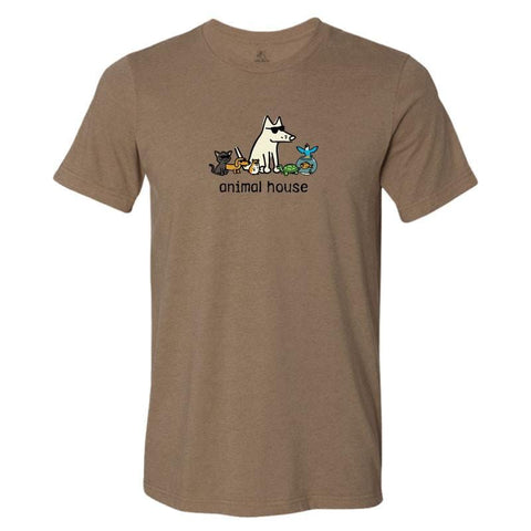 Animal House Lightweight Tee - Teddy the Dog T-Shirts and Gifts