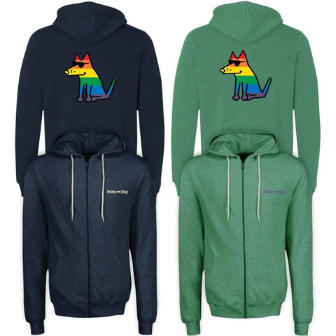 Choose Love - Split Zip Hoodie