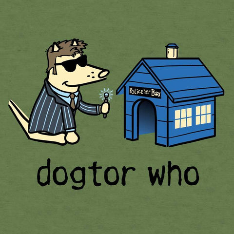 Dogtor Who - Lightweight Tee