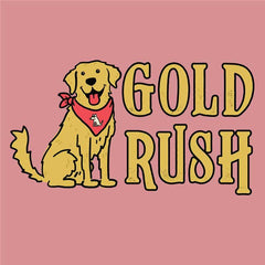 Gold Rush  - Ladies T-Shirt V-Neck