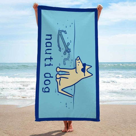 Nauti Dog - Beach Towel