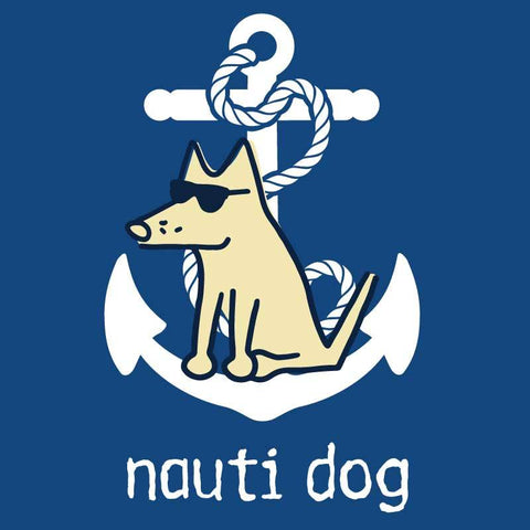 Nauti Dog - Ladies T-Shirt V-Neck