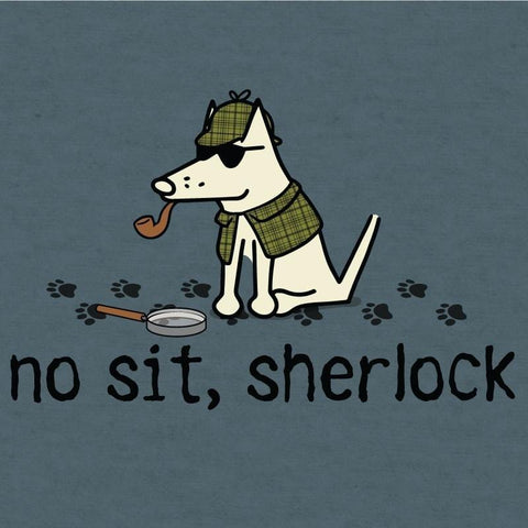 no sit sherlock lightweight t-shirt