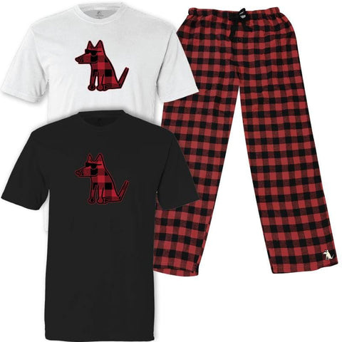 Teddy's Buffalo Plaid - Pajama Set