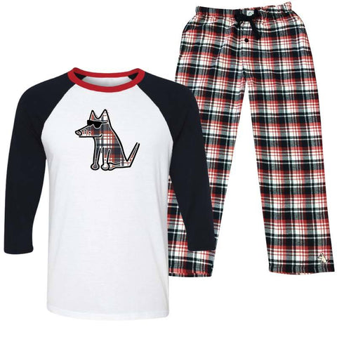 Plaid Tidings - Pajama Set