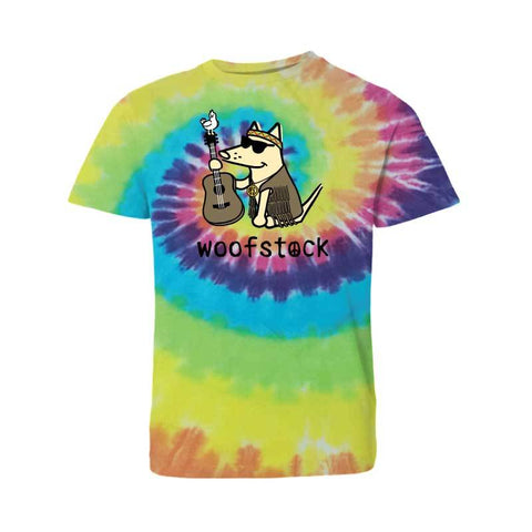 Woofstock - Guitar - T-Shirt - Kids