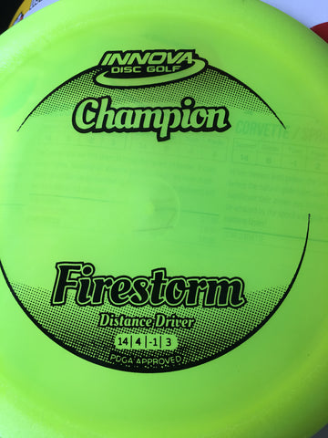 Firestorm Champion Plastic