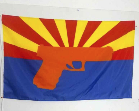 Arizona Gun Flag