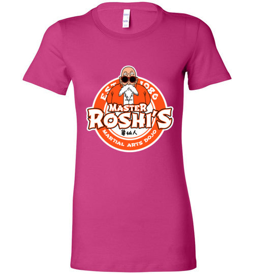 Master Roshi Dojo-Anime Women's Shirts-Carlo1956|Threadiverse