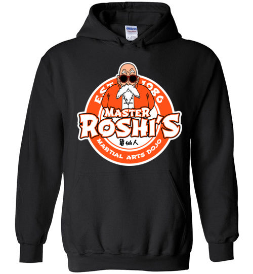 Master Roshi Dojo-Anime Zipper Hoodies-Carlo1956|Threadiverse