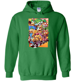 Good Guys Finish Last-Gaming Hoodies-Pinteezy|Threadiverse