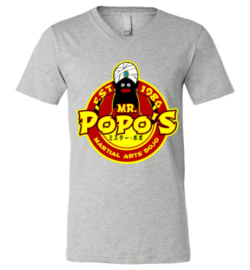 Popo's Dojo-Anime V-Necks-Carlo1956|Threadiverse