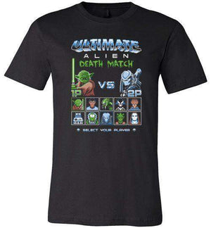 Alien Death Match-Pop Culture Shirts-Stationjack|Threadiverse