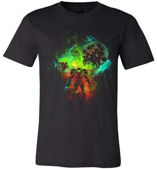 Metroid-Gaming Shirts-Donnie Illustrateur|Threadiverse