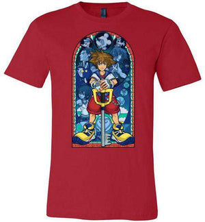 Stained Glass Of Memories-Gaming Shirts-Whimsy Design And Illustration|Threadiverse