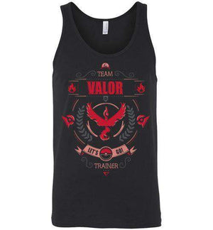 Team Valor-Gaming Tank Tops-Typhoonic Artwork|Threadiverse