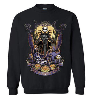 The Pumpkin King-Animation Sweatshirts-TrulyEpic|Threadiverse