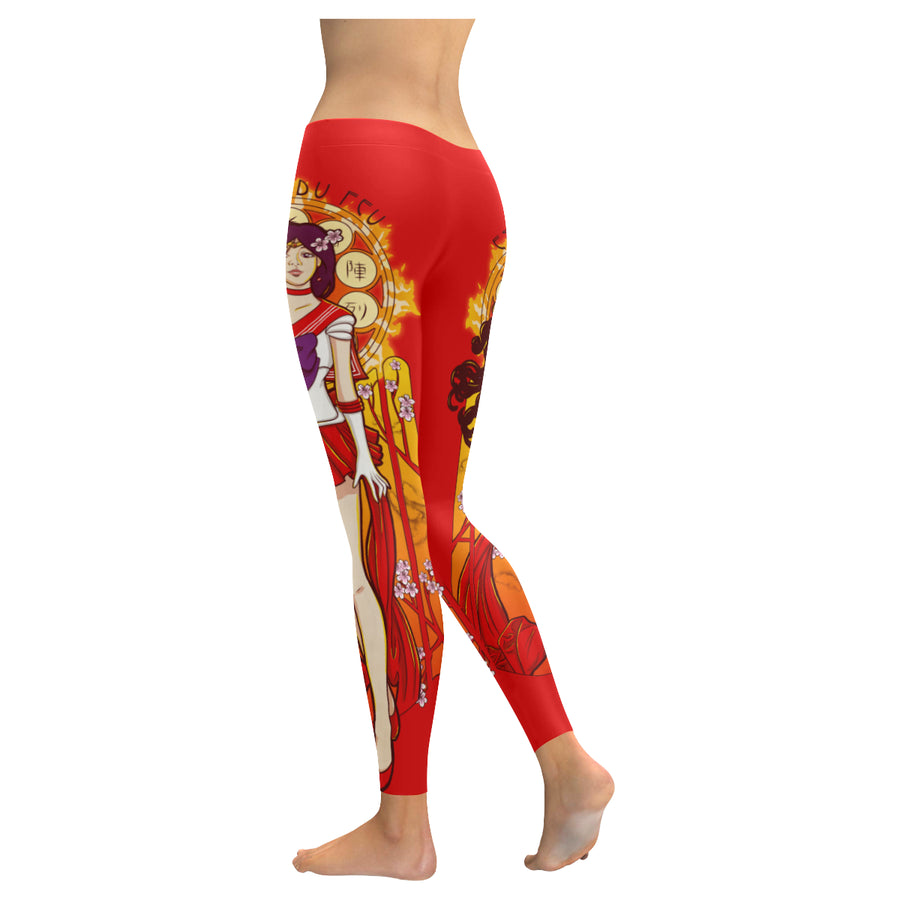 Spirit Of Fire Leggings