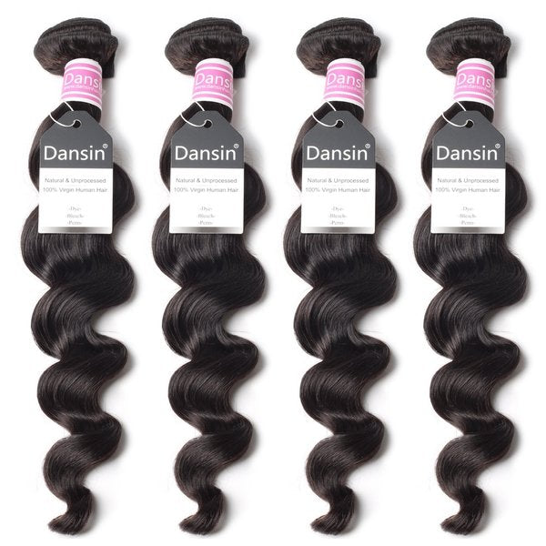 Luxury 10A Peruvian Loose Wave Hair 4 Bundles