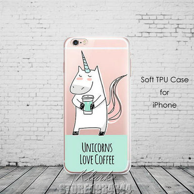 16 Styles 'Born To Shine' Unicorn iPhone Cases - Well Pick Review
