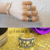 Image of Twisted Wire Vintage Silver Elephant Ring 3