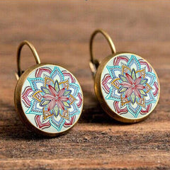 Twisted Wire - Ethnic Wind Earrings 1