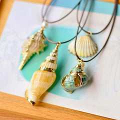 Twisted Wire - Sealife Pendant Necklaces 1