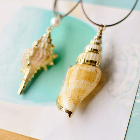 Twisted Wire - Sealife Pendant Necklaces 8