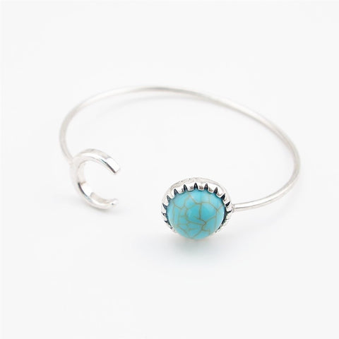 Sun & Moon Bracelet - Twisted Wire