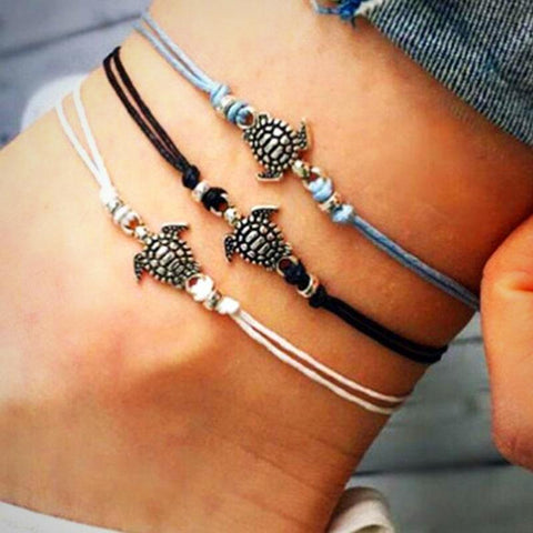 buy Turtle Anklets Twisted Wire
