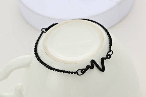 Heart-Beat Bracelet - Twisted Wire