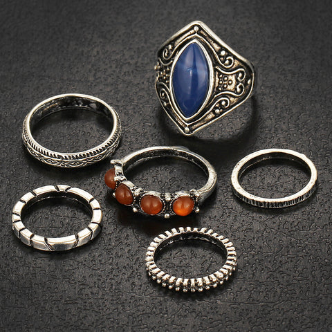 Vintage Tibetan Rings - Twisted Wire