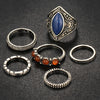 Image of Vintage Tibetan Rings - Twisted Wire