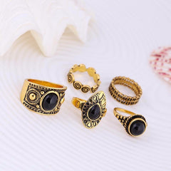 Vintage Gypsy Ring Set