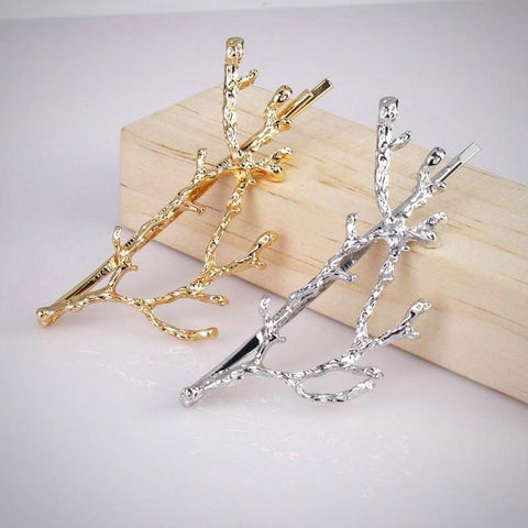Bohemian Tree-Branch Hairpin