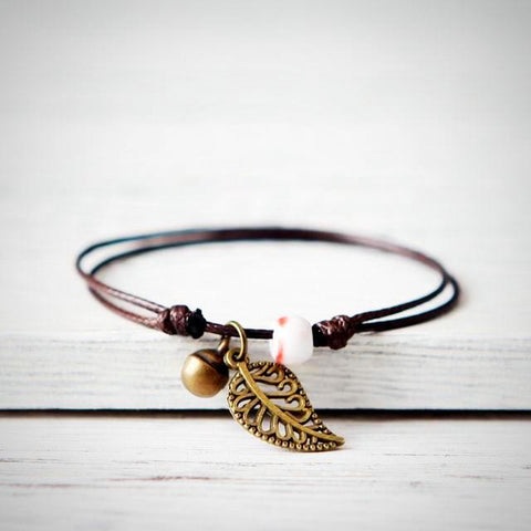 Free-Spirit Bohemian Anklet - Twisted Wire