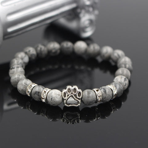 Twisted Wire - Natural Stone Pitbull Bracelet 3