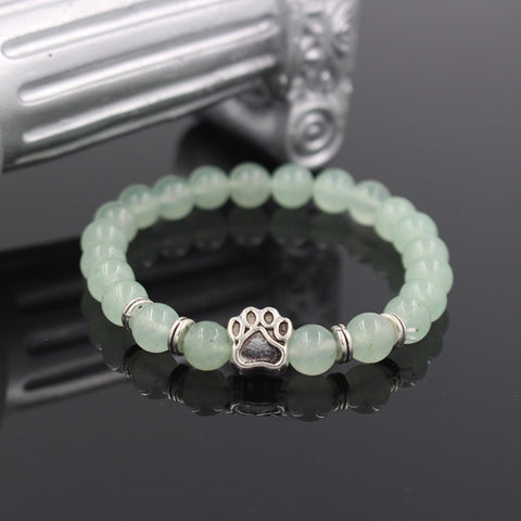 Twisted Wire - Natural Stone Pitbull Bracelet 5