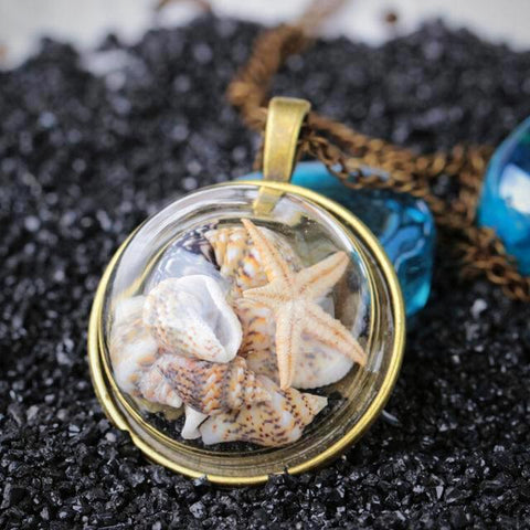 Twisted Wire - Sealife Pendant Necklaces 6