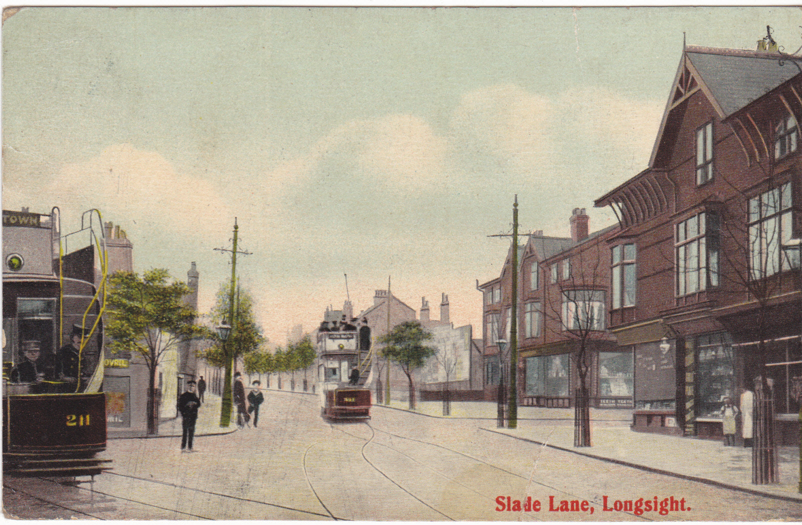 Slade Lane, Longsight, Manchester