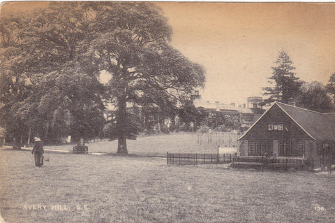 Old postcard of Avery Hill, London SE