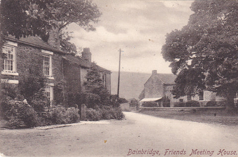 Bainbridge, Friends Meeting House - pre 1918 postcard